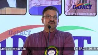 JD Laxminarayana IPS at IMPACT vizag on topic Parenting