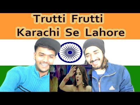 Indian reaction on Trutti Frutti | Ayesha Omar | Shiraz Uppal | Karachi Se Lahore | Swaggy d