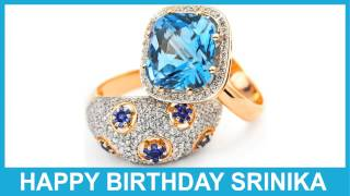 Srinika   Jewelry & Joyas - Happy Birthday
