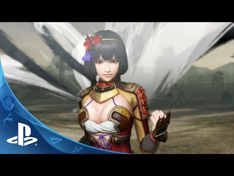 Samurai Warriors 4 -- Battle Trailer | PS4, PS3, PS Vita