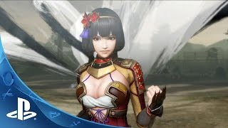 Samurai Warriors 4 -- Battle Trailer | PS4, PS3, PS Vita