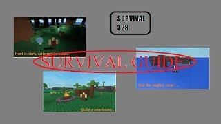 Roblox: Guide de survie 323 de base de survie