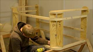 How to make a Chesterfield Sofa, Part 1, Frame