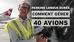 Gérer 40 avions en parking longue durée (et préparer la reprise)