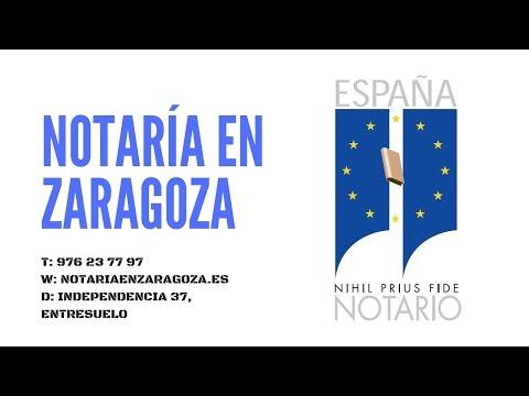 Notarios Zaragoza
