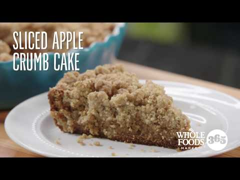Spiced Apple Crumb Cake | Recipes | Whole Foods Market 365