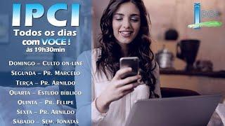 IP Central de Itapeva - Pr. Felipe - LIVE de Quinta-feira - 11/06/2020