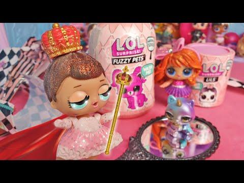 👑 Queen Candy apre le LOL Surprise LILS e FUZZY PETS 👑 [Unboxing]