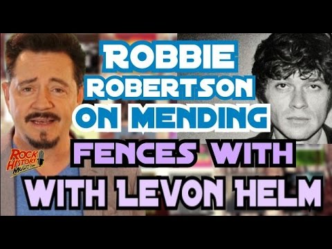 Robbie Robertson Found Peace with Fellow Band Member Levon Helm