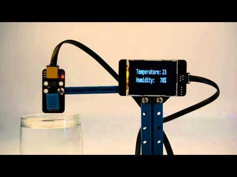 Me Temperature and Humidity Sensor