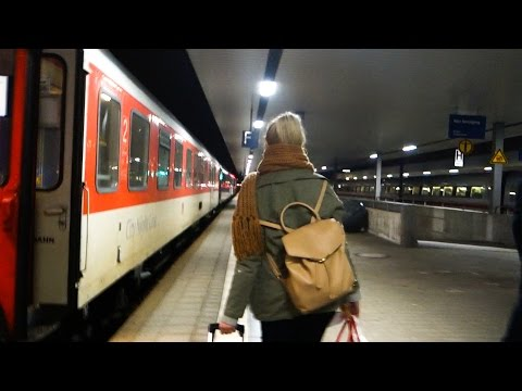 GERMAN NIGHT TRAIN | Overnight Train To Germany