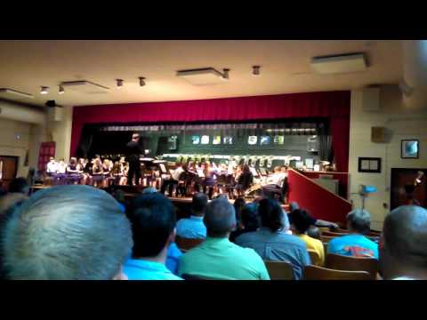 Dragon slayer central Davidson middle school band