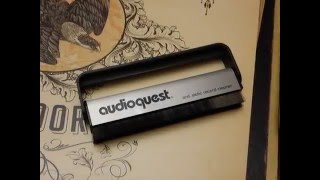 How-To - Clean a Record - Audioquest Anti-Static Brush Review