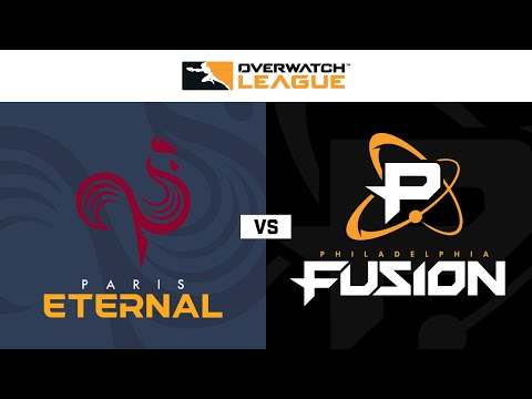Philadelphia Fusion vs Paris Eternal vod
