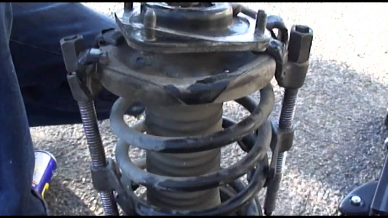 Mazda Protege 2001 Front Struts Replacement Mp4 Youtube