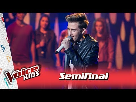 Luiz Henrique Schultz canta Linda Demais  na Semifinal – TVK  3ª Temporada