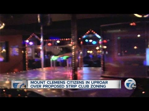 Strip club ordinance causing controversy in Mount Clemens