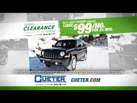 Awesome Spring Clearance At Cueter Chrysler Jeep Dodge Ram