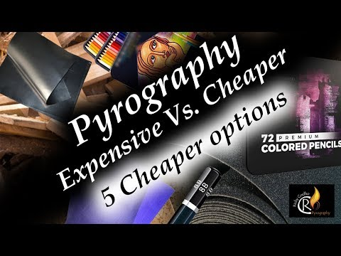 5 Cheaper alternatives - Pyrography issues