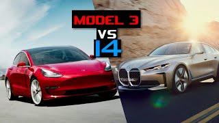 homepage tile video photo for Tesla Model 3 vs BMW i4: Electric Car Kings – Inside Lane