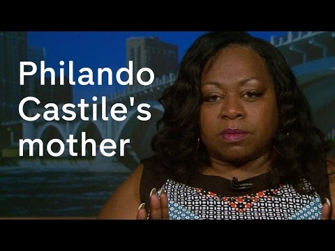 Philando Castile shooting: mother speaks about son's death
