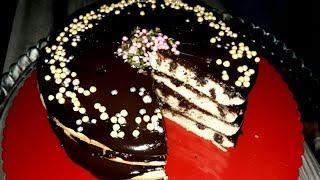 30 dk& 39 da Fırınsız Acil Doğum Günü Pastasıyla Günü Kurtarın💪 Kek Sos ile pastanız hazır
