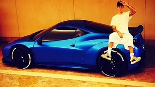 Justin Bieber's Cars and Bikes
