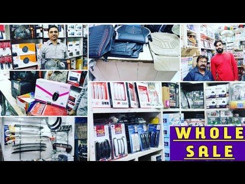 kashmiri gate (CAR ACCESSORIES WHOLE SALE MARKET) cheap products full explored