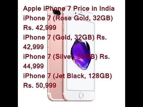 Apple Iphone 7 Apple Iphone 7 Price In India
