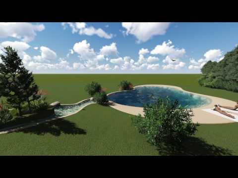 Piscinas de arena dise o youtube - Diseno de piscinas ...