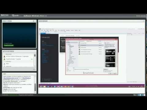 Webinar ACTION CE: Składniki budowy aplikacji Windows Store (laboratorium)(Paweł Żochowski)