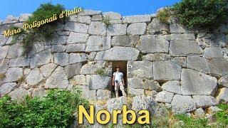 Norba  - Mura poligonali d'Italia