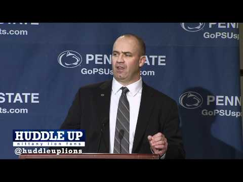 Bill O'Brien Introductory Press Conference 1.7.12