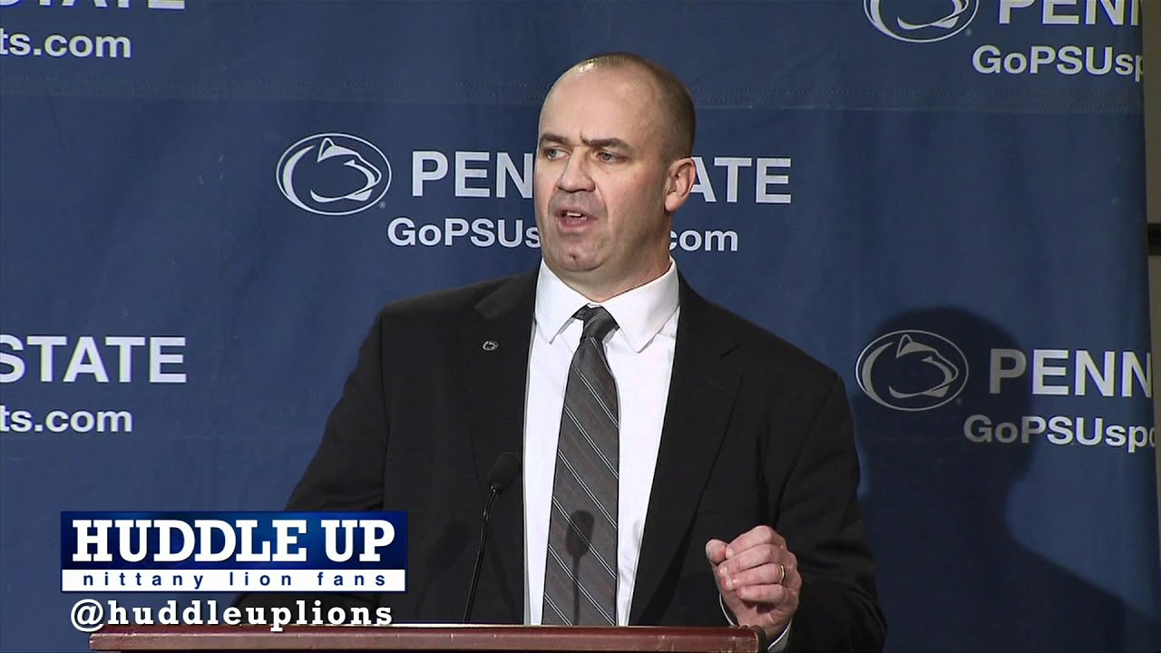 Bill O'Brien Introductory Press Conference 1.7.12 - YouTube