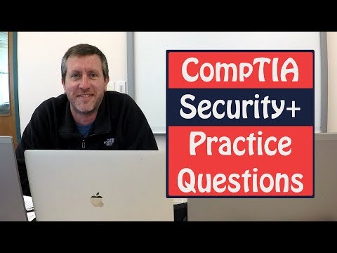 CompTIA Security Plus Exam Practice Questions SY0-401