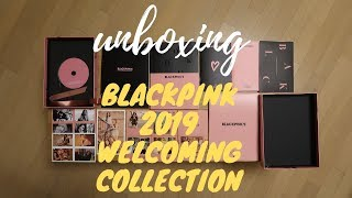 [UNBOXING] BLACKPINK'S 2019 Welcoming Collection