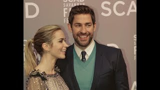 John Krasinksi and Emily Blunt talk directing styles and iconic characters