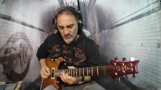 marco fanton jamming with a cbg backing track