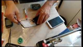 Замена защитного стекла на Samsung Galaxy Note 2 N7100(, 2014-06-28T21:02:27.000Z)