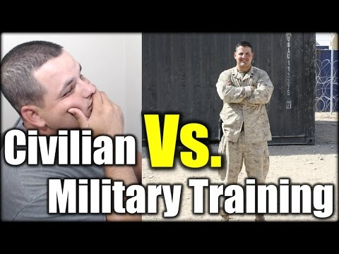Military Vs. Civilian Training| Q&A EP#3