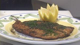 Trout Sauteed a la Meunière