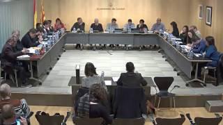 Ajuntament de Calafell: sessió plenària extraordinària, 20 de febrer de 2017