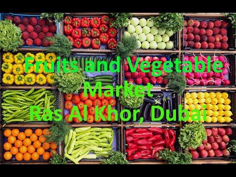 Fruits and Vegetables Market in Ras Al Khor Dubai
