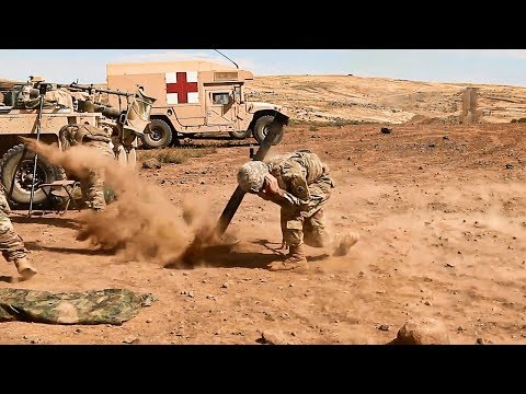 US Army Infantry Regiment Mortar Training | Rising Thunder 2019