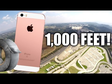 Thumbnail: Can Duct Tape Protect iPhone SE from 1,000 Feet DROP TEST?!!