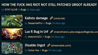 Does Riot IGNORE Bug Reports? Why Champions are BUGGED after PBE Testing? How to make PBE BETTER?