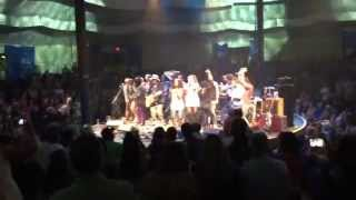 Send Me On My Way- Rusted Root, The Wailers and Adam Ezra Cape Cod Melody Tent 2015-06-14