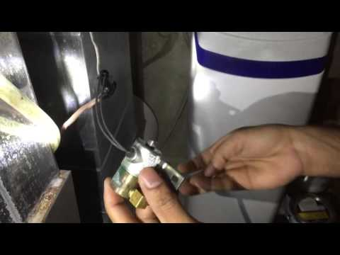 Honeywell Humidifier solenoid repair