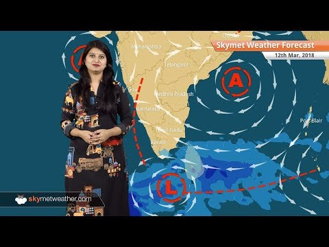 Weather Forecast for Mar 12: Rain in South Tamil Nadu, Kerala, West Bengal; snow in North Kashmir