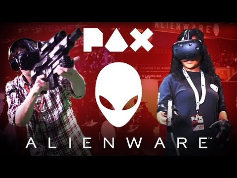 VR Mixed Reality Experiences & More at PAX East Alienware Booth